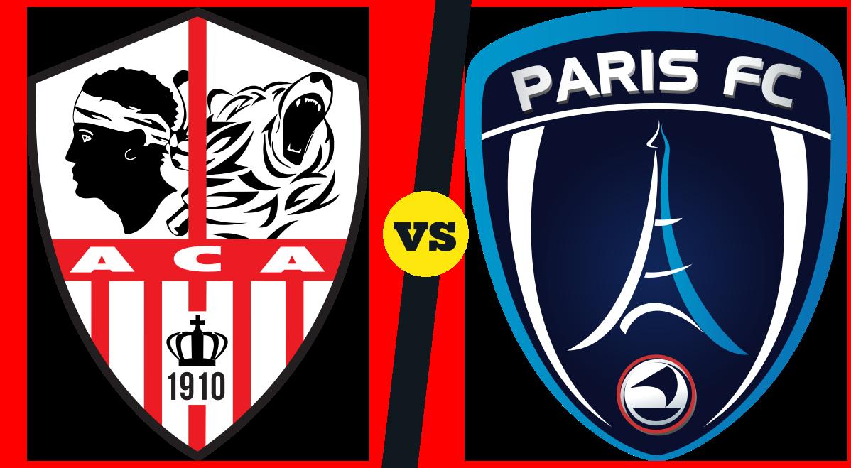 Pronostic Ajaccio  Paris du 21/08 au Stade François Coty